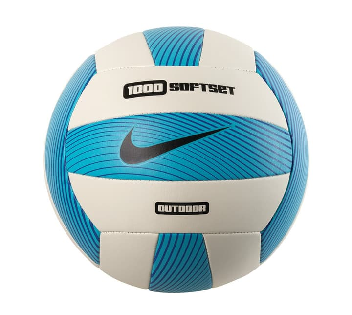 1000 Softset Outdoor Volleyball Volley-ball de plage Nike 461902500540 Couleur bleu Taille 5 Photo no. 1