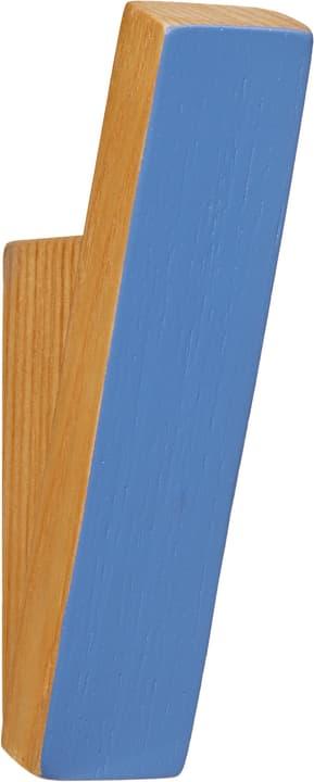 WILLOW Kleiderhaken 407332501140 Grösse B: 2.5 cm x T: 4.0 cm x H: 11.0 cm Farbe Blau Bild Nr. 1