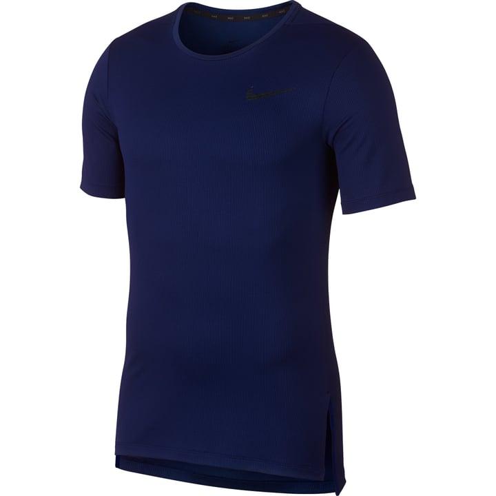 Dry Top SS Slim Herren-T-Shirt Nike 464968300522 Farbe dunkelblau Grösse L Bild-Nr. 1