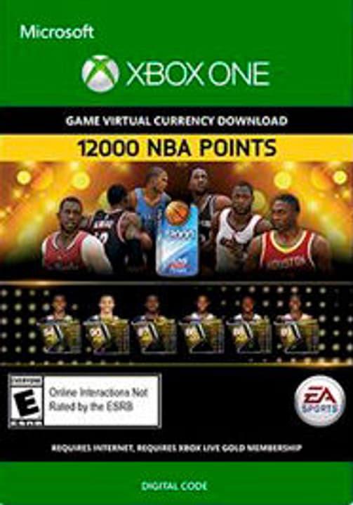 Xbox One -NBA Live 15: 12,000 NBA Points 785300135777 Bild Nr. 1