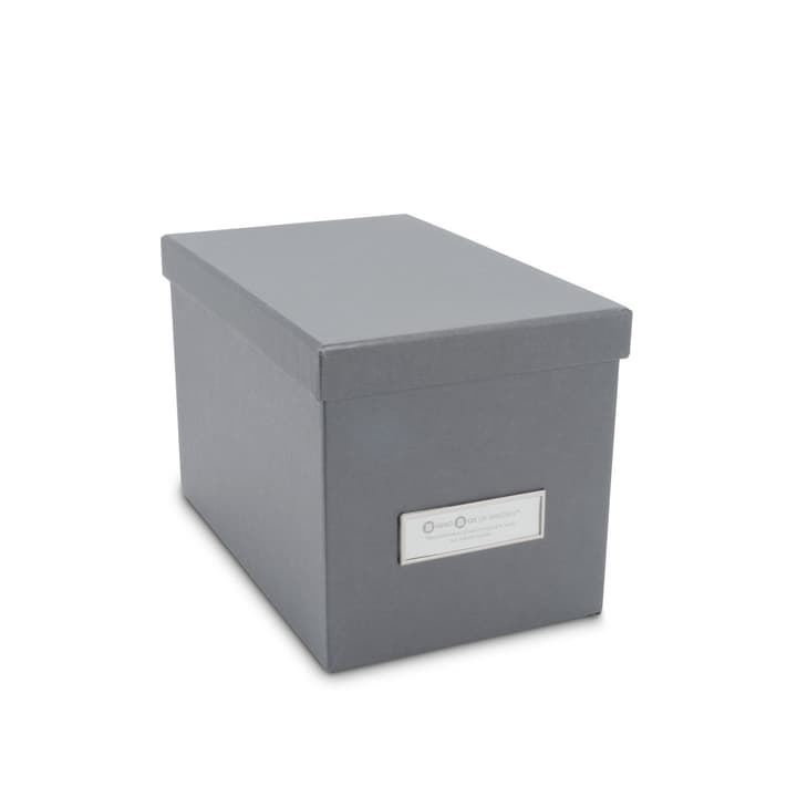BIGSO CLASSIC Boîte pour CD/DVD 386018650007 Dimensions L: 22.0 cm x P: 14.0 cm x H: 14.5 cm Couleur Gris Photo no. 1