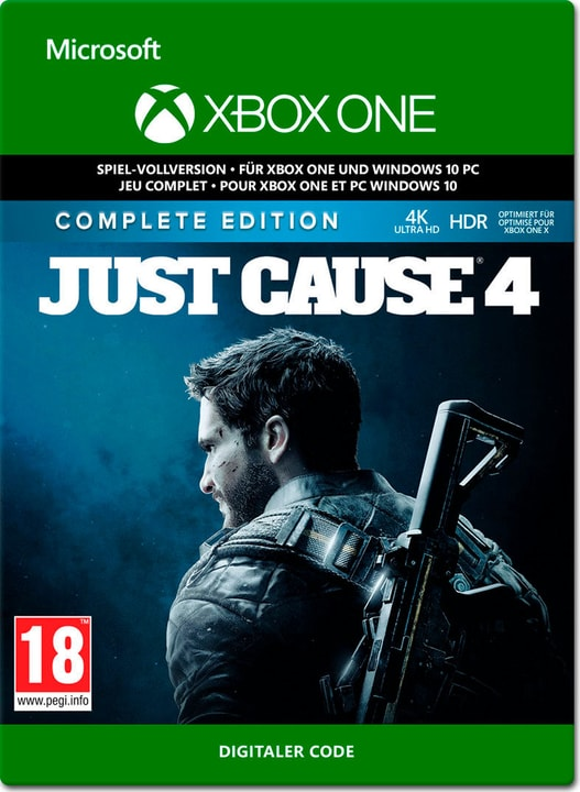 Xbox One - Just Cause 4: Complete Edition Download (ESD) 785300149758 Photo no. 1