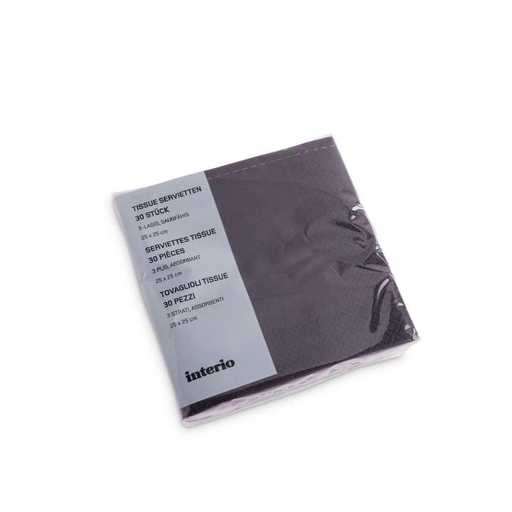PAPER Tovaglioli di carta 393002074355 Dimensioni L: 12.5 cm x P: 12.5 cm x A: 4.0 cm Colore Antracite N. figura 1