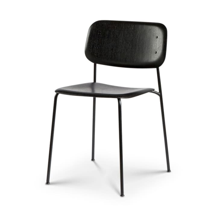 SOFT EDGE 10 chaise HAY 366122210020 Dimensions L: 49.5 cm x P: 52.5 cm x H: 78.0 cm Couleur Noir Photo no. 1