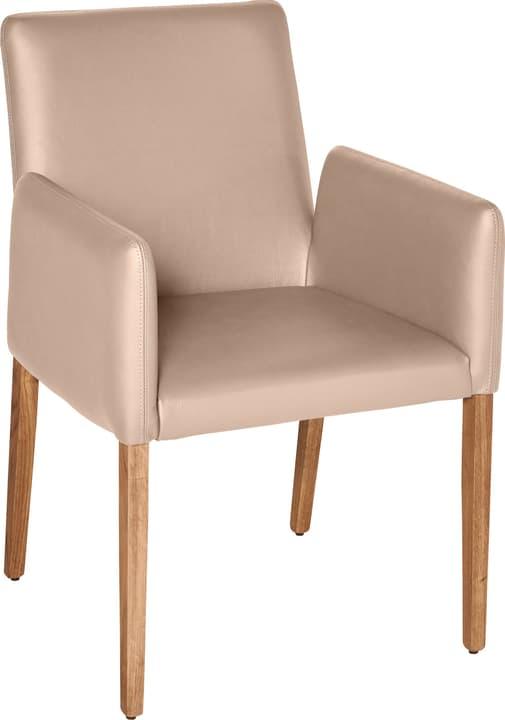 PIRAS Chaise 402358000088 Dimensions L: 58.0 cm x P: 55.0 cm x H: 86.0 cm Couleur Gris taupe Photo no. 1