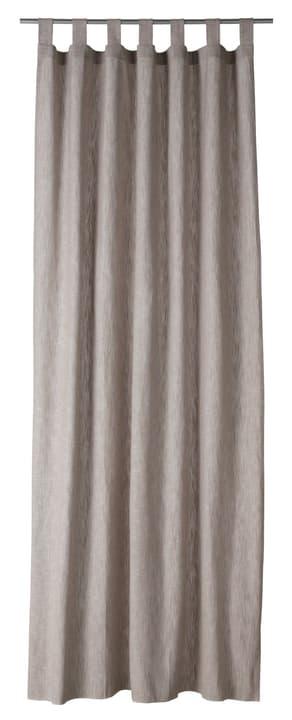 TIAGO Rideau prêt à poser opaque 430263621874 Couleur Beige Dimensions L: 150.0 cm x H: 260.0 cm Photo no. 1