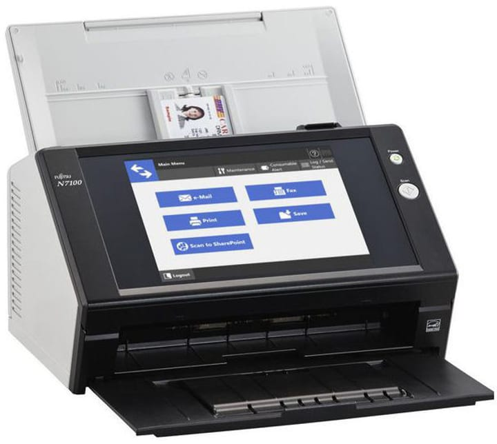 N7100 Scanner de documents Fujitsu 785300144660 Photo no. 1