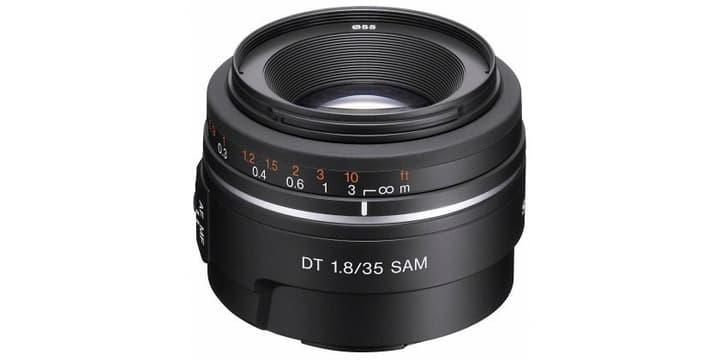 DT 35mm F1.8 SAM Portrait (SAL-35F18) Objectif de type A pour appareils photo numériques Objectif Sony 785300123825 Photo no. 1