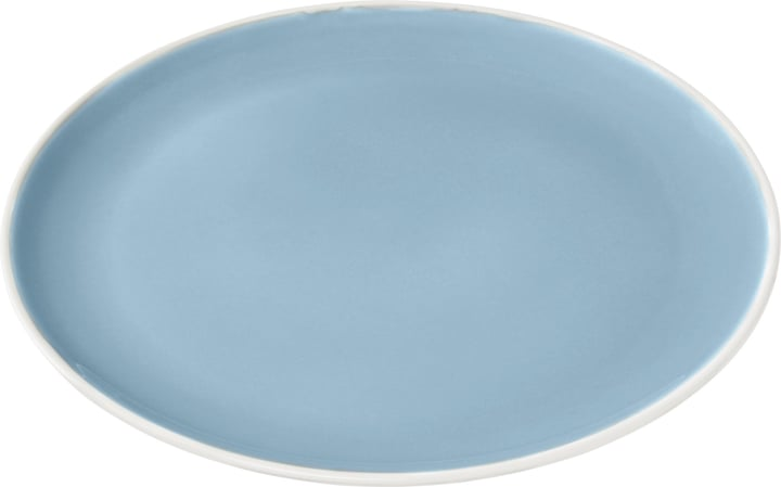 BOSTON Assiette 440289802841 Couleur Bleu clair Photo no. 1