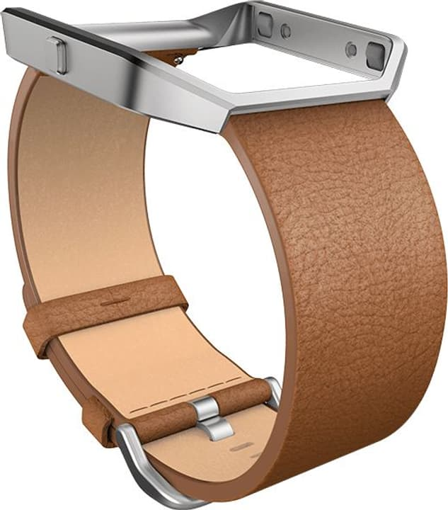 Blaze Bracelet en cuir Camel Small Fitbit 798120000000 Photo no. 1