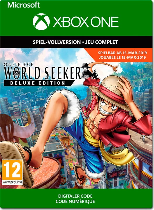 Xbox One - One Piece World Seeker Deluxe Edition Download (ESD) 785300142892 N. figura 1