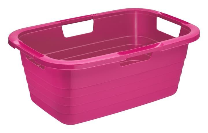 Wäschekorb 37l Sunshine pink Rotho 675146000000 Bild Nr. 1