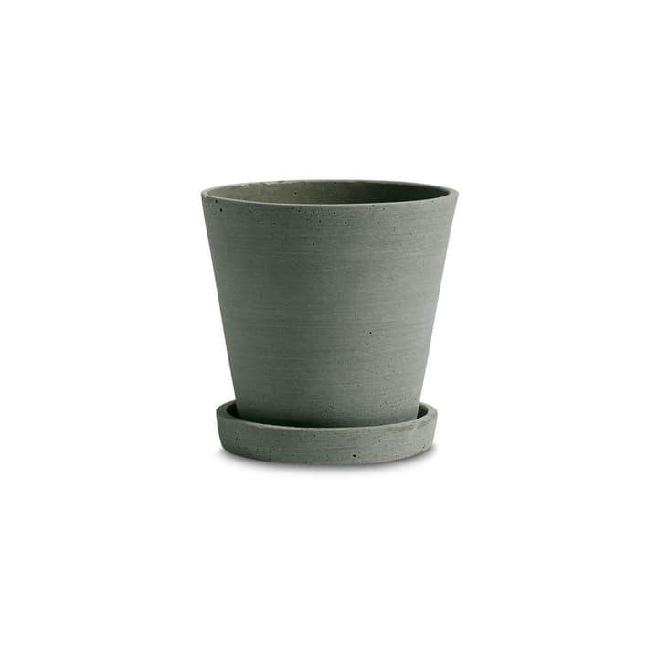 FLOWER POT / M Cache-pot HAY 382075300000 Dimensions H: 13.5 cm Couleur Vert Photo no. 1