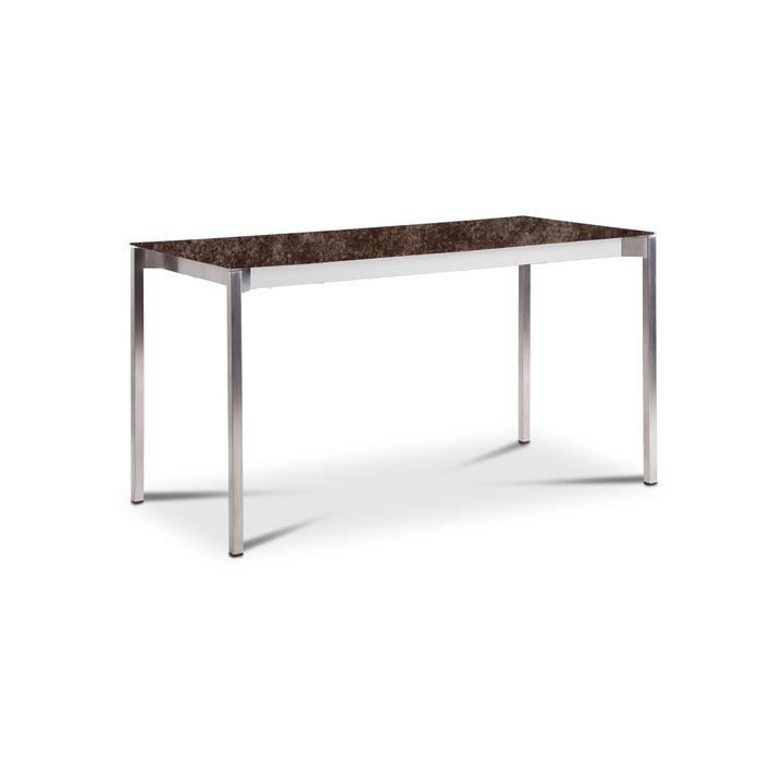 LUZON Table 368072100000 Dimensions L: 140.0 cm x P: 80.0 cm x H: 75.0 cm Couleur Bronze Photo no. 1