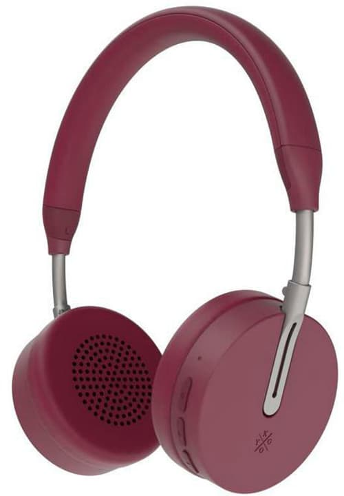 A6/500 BT - Burgundy Casque On-Ear KYGO 785300143279 Photo no. 1