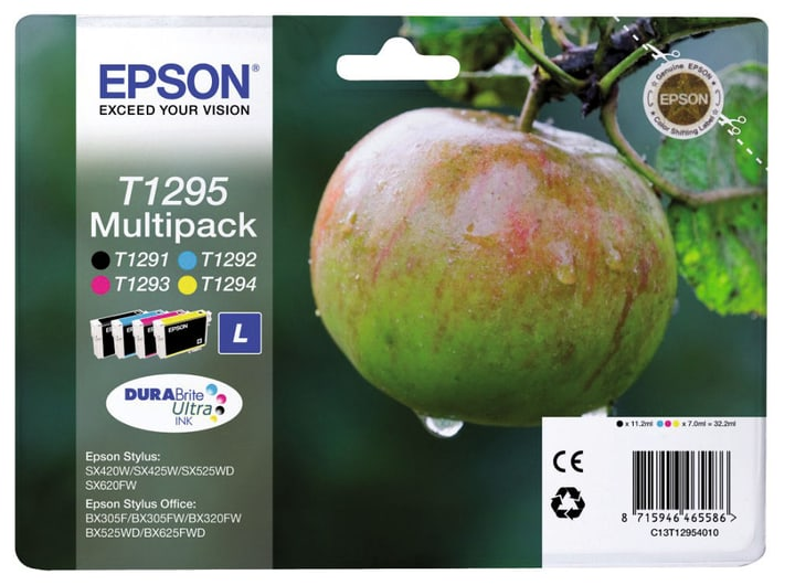 T129540 CMYBK Tintenpatrone Epson 797520300000 Bild Nr. 1