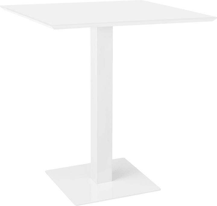 BARBASSO Tavolo bar 402386600000 Dimensioni L: 70.0 cm x P: 70.0 cm x A: 73.0 cm Colore Bianco N. figura 1