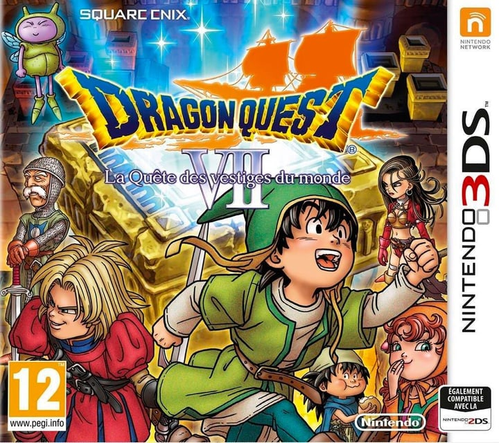 3DS - DRAGON QUEST VII: Fragmente der Vergangenheit Fisico (Box) 785300121296 N. figura 1