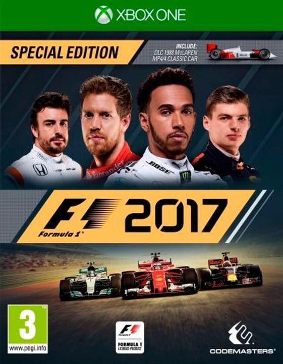 Xbox One - F1 2017 Special Edition 785300122626 Photo no. 1