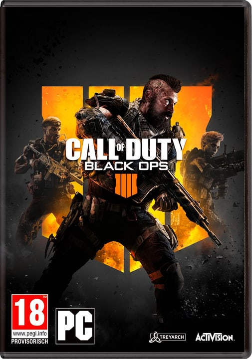 PC - Call of Duty: Black Ops 4 (D) Physique (Box) 785300135602 Langue Allemand Plate-forme PC Photo no. 1