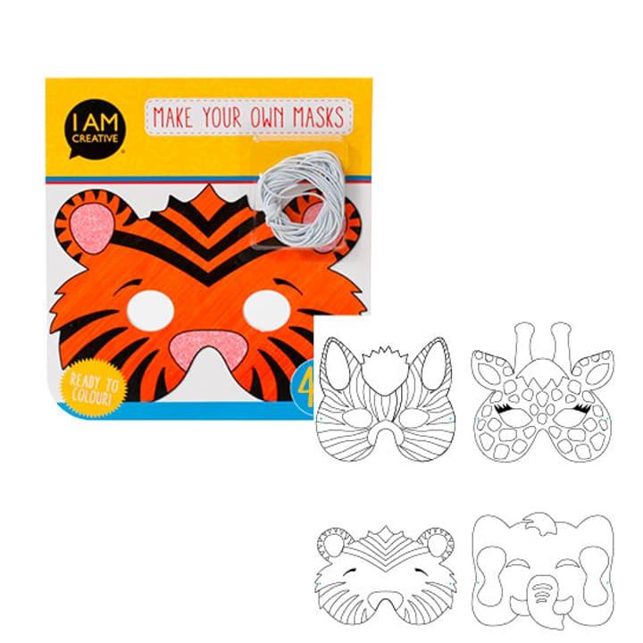 Kindermasken Tiere I AM CREATIVE 666017900000 Bild Nr. 1