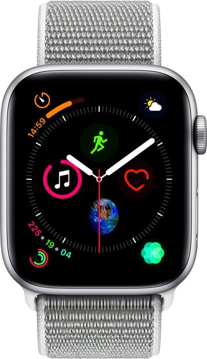 Watch Serie 4 44mm GPS silver Aluminum Seashell Sport Loop Smartwatch Apple 798455900000 Photo no. 1