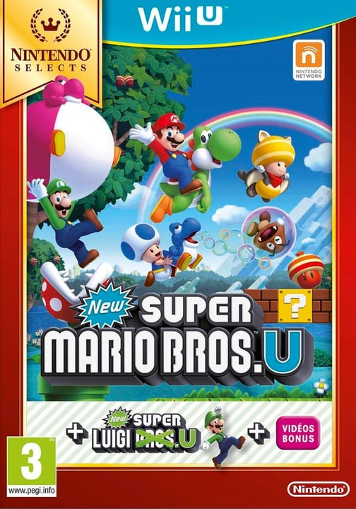 Wii U - New Super Mario Bros. U + New Super Luigi U Selects Fisico (Box) 785300120986 N. figura 1