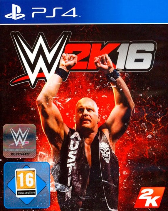 PS4 - WWE 2K16 Physique (Box) 785300122193 Photo no. 1
