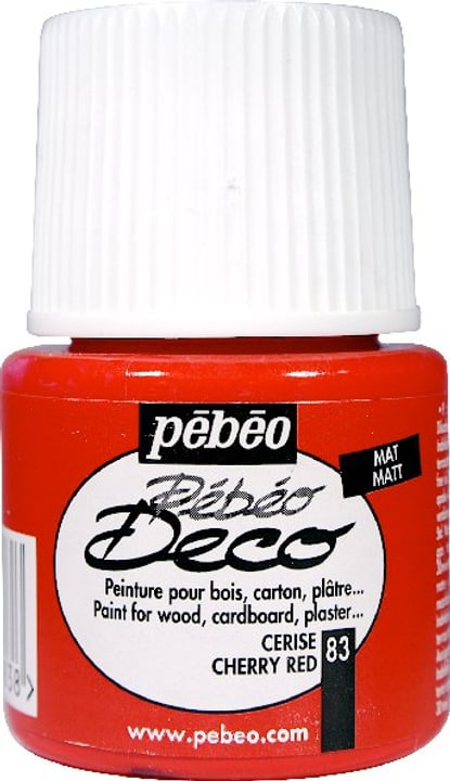 Pébéo Deco cherry red 83 Pebeo 663513008300 Photo no. 1