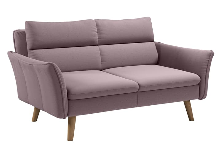 KUCK 2er-Sofa 405744820338 Farbe Rosa Grösse B: 160.0 cm x T: 101.0 cm x H: 89.0 cm Bild Nr. 1