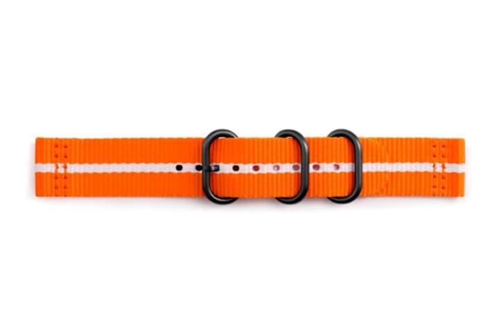 Galaxy Watch (42 mm) Strap Studio Premium Nato Strap 20 mm orange Armband Samsung 785300138270 Bild Nr. 1