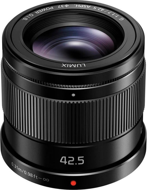Lumix G 42.5mm/1.7 (H-HS043E-K) Objektiv Objektiv Panasonic 785300126035 Bild Nr. 1