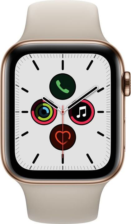 Watch Series 5 LTE 44mm gold Stainless Steel Stone Sport Band Smartwatch Apple 785300146922 N. figura 1