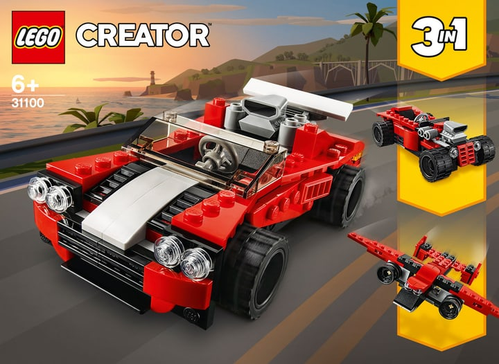LEGO Creator 31100 Sportwagen LEGO Creator 31100 Auto sportiva 748733000000 Photo no. 1