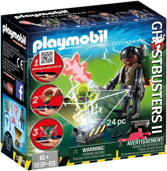 Playmobil Ghostbuster Winston Zeddemore 746095400000 N. figura 1