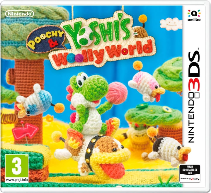 3DS - Poochy & Yoshis Woolly World Physisch (Box) 785300121518 Bild Nr. 1