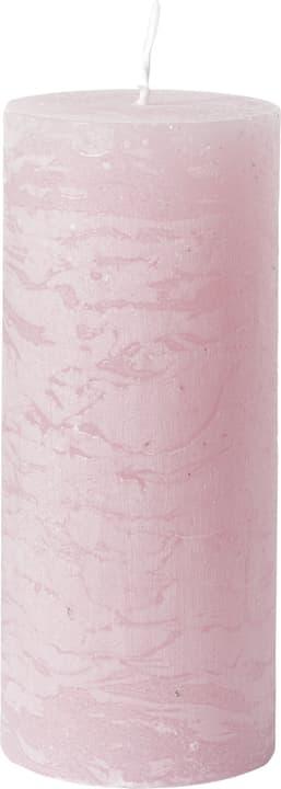 BAL Bougie cylindrique 440582901038 Couleur Rose Dimensions H: 14.0 cm Photo no. 1