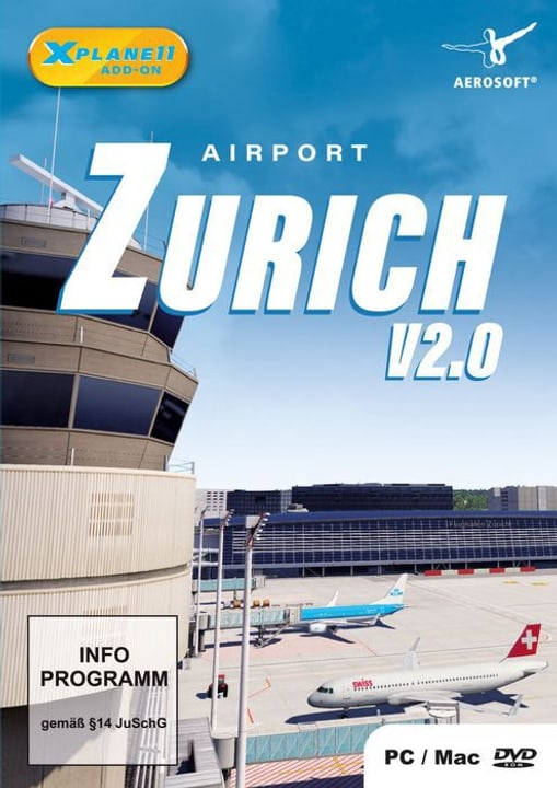 PC - Airport Zürich für X-Plane 11 D Box 785300133146 Bild Nr. 1