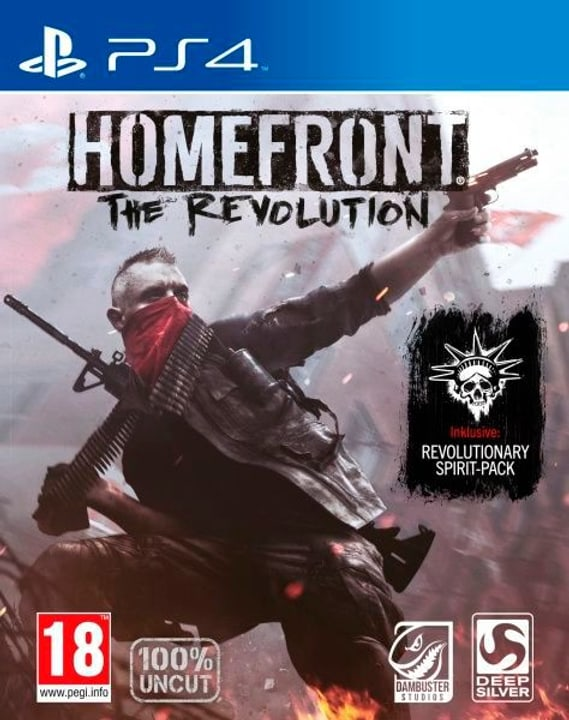 PS4 - Homefront The Revolution Physique (Box) 785300129897 Photo no. 1