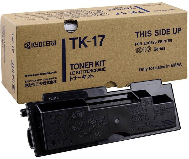 Toner TK-17 schwarz Tonerkassette Kyocera 796053500000 Bild Nr. 1