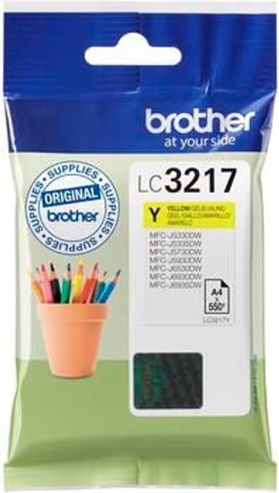 LC-3217Y gelb Tintenpatrone Brother 798538500000 Bild Nr. 1