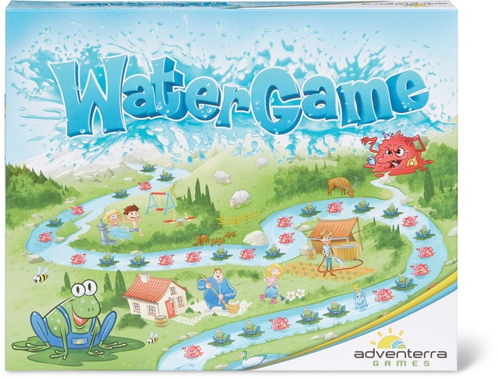 Adventerra Watergame 66 Cards 748946890200 Photo no. 1
