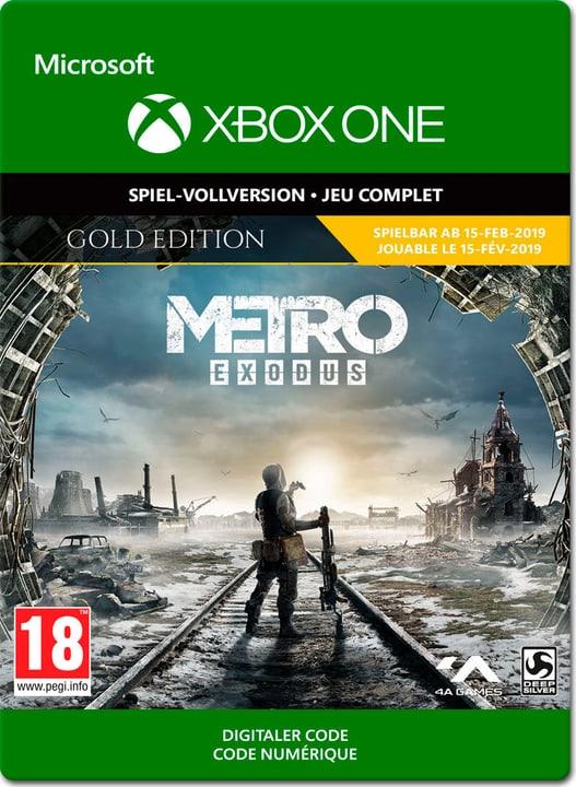 Xbox One - Metro Exodus Exodus Gold Edition Download (ESD) 785300141688 Bild Nr. 1