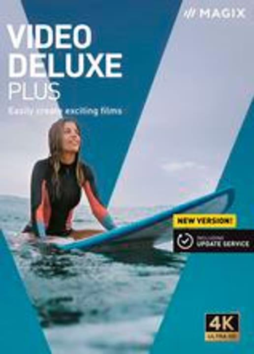 Video deluxe Plus 2020 [PC] (F/I) Physisch (Box) Magix 785300146293 Photo no. 1