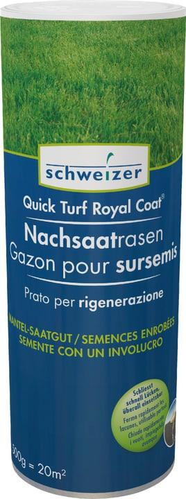 Quick - Turf Royal Coat Nachsaatrasen, 0.5 kg Eric Schweizer 659204400000 Bild Nr. 1