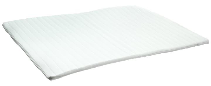 MOULIN Topper 404428816000 Dimensioni L: 160.0 cm x P: 200.0 cm x A: 7.0 cm Colore Bianco N. figura 1