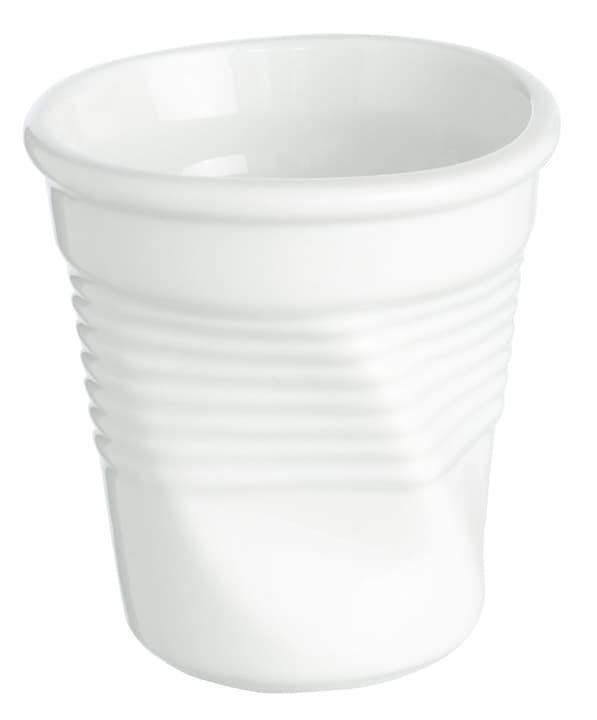CRUMBLED Gobelet à expresso 441069100100 Couleur Blanc Dimensions L: 7.0 cm x P: 7.0 cm x H: 7.5 cm Photo no. 1