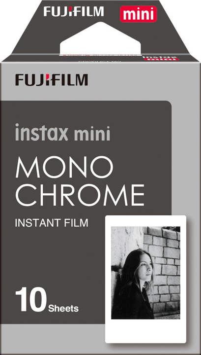 Instax Mini Mono Chrome 1x10 FUJIFILM 793182600000 Photo no. 1