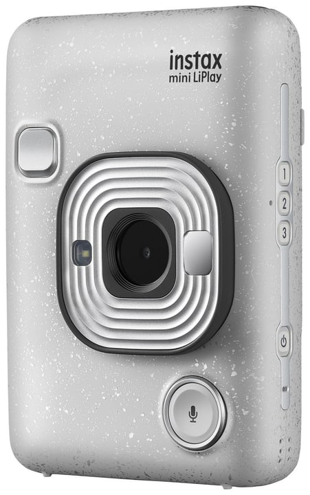Instax Mini LiPlay Stone White Sofortbildkamera FUJIFILM 785300145649 Bild Nr. 1