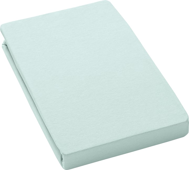LANA drap-housse 451052033374 Couleur Menthe Dimensions L: 180.0 cm x P: 200.0 cm Photo no. 1